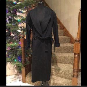 Talbots long wool coat